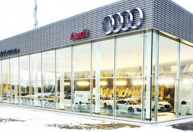 Concessionnaire Audi à Brossard - Audi dealership Brossard