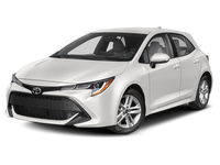 2020 Toyota Corolla Hatchback Manual